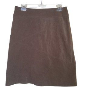 Dynamite Faux Suede Skirt Fits like a Size 10